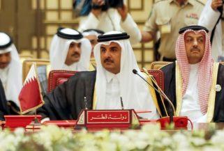Qatar emir-du-qatar-cheikh-tamim-bin-hamad-al-thani-lors-d-une-reunion-du-conseil-de-cooperation-du-golf